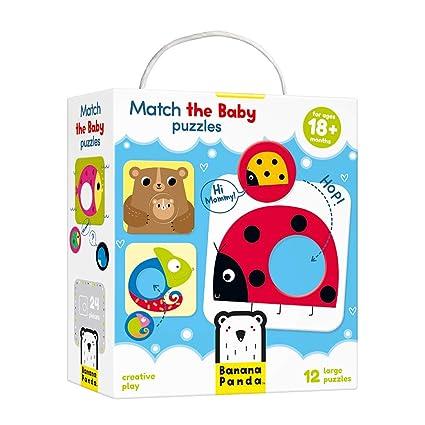 Amazon.com  Banana Panda Match The Baby Puzzle Set 169992d672f