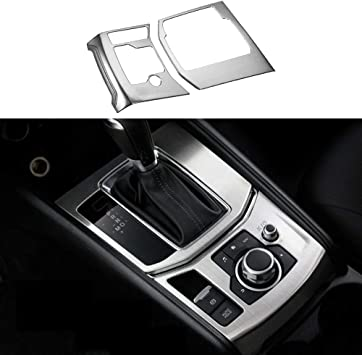 Matte Console Dashboard AC Vent Switch Buttons Cover For Mazda 3 Axela 2017 2018