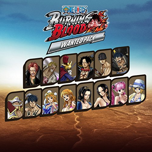 One Piece: Burning Blood - Wanted Pack - PS Vita [Digital Code]