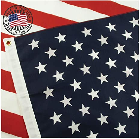 American Flag: 100% Made in USA Certified by Grace Alley