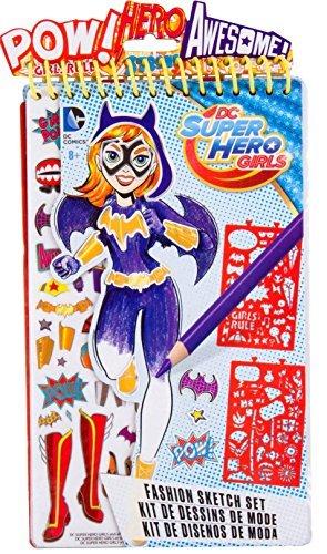 DC Superhero Girls Fashion Compact Sketch Set