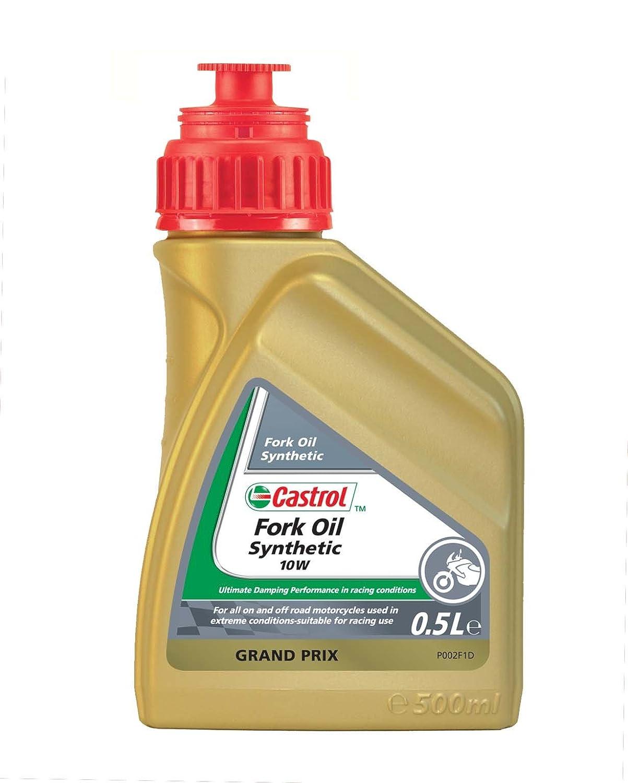 Castrol Spezialitä ten Motorrad Fork Oil Synthetic SAE 10W - 500mL Flasche Castrol Limited 151AC4 95603973