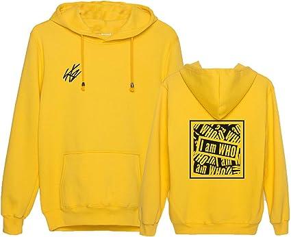 Aopostall Kpop Stray Kids I Am WHO Hoodie Sweater Hyujin Seungmin Chagbin Jisung Minho Woojin Top Sweatshirt