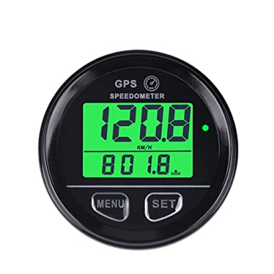 Runleader RL-SM001 Waterproof Digital Gps Speed Meter Backlight Speed Counter for Atv Utv Motorcycle Automobile Motor Vehicle: Automotive