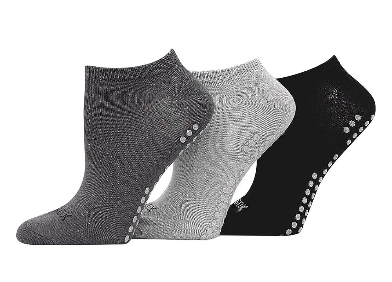 Hot Sox Womens Originals 3-Pack Yoga Socks