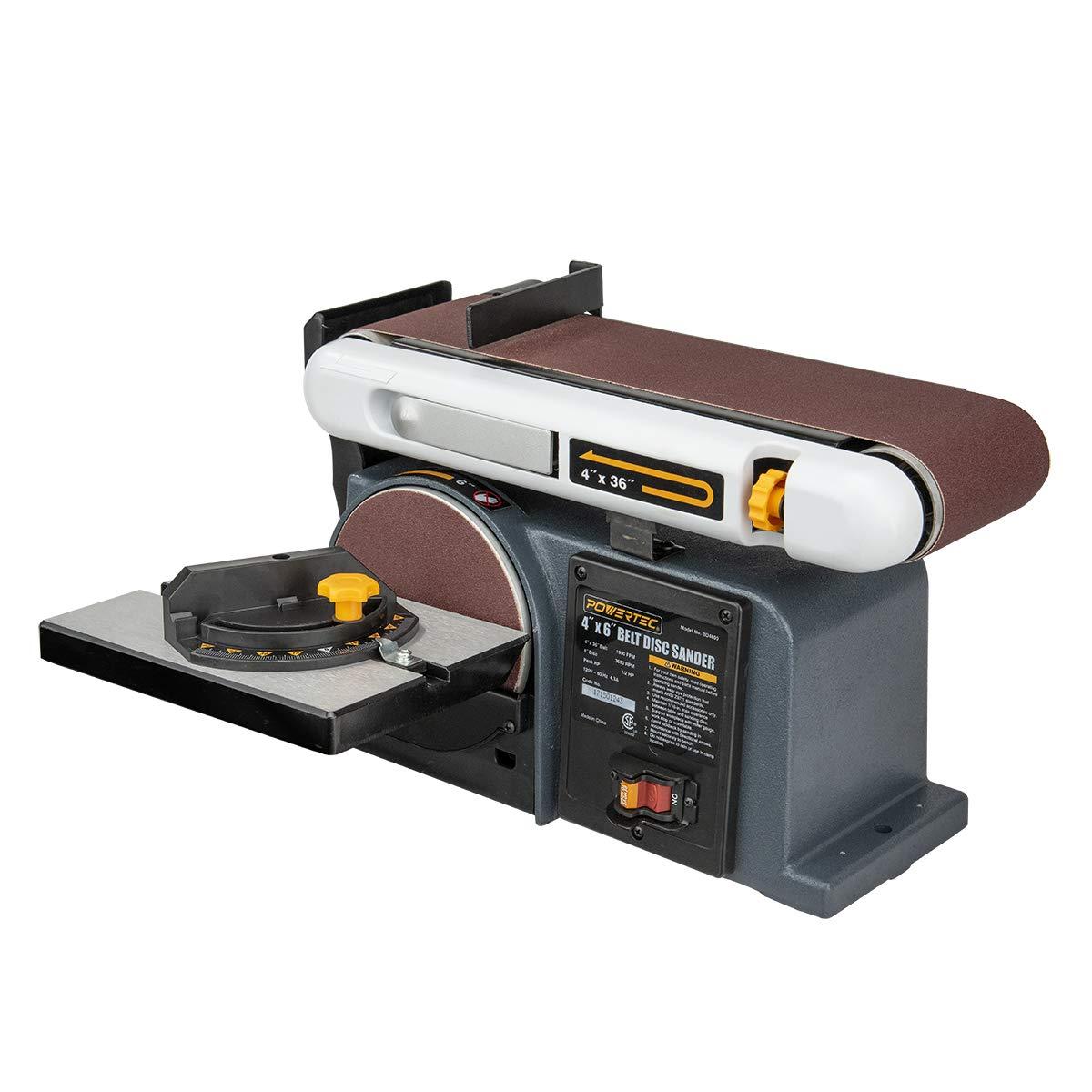 3. POWERTEC BD4600 Belt Disc Sander