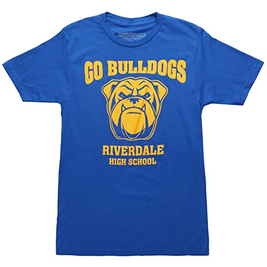 Amazoncom Ripple Junction Riverdale Go Bulldogs Adult T Shirt