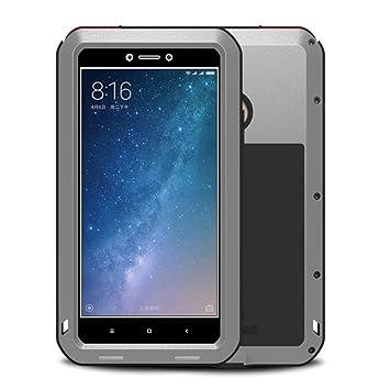 BINXUN Xiaomi Mi MAX 2 Funda Impermeable Case, Anti-Polvo y ...