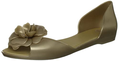 Mel Fresh - Plano de pvc mujer, color dorado, talla 6 UK