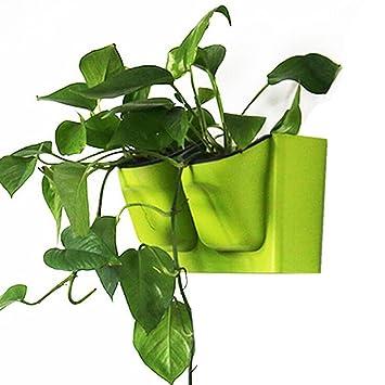 ounona Living Wand-Pflanzgefäß recyceltem Kunststoff ...