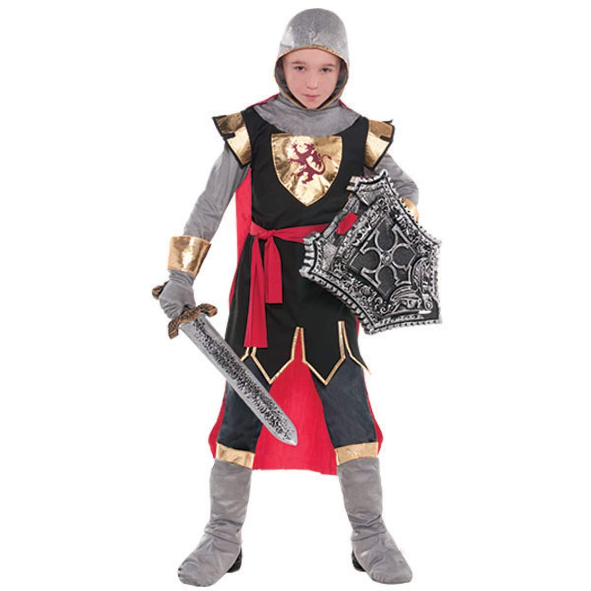 Amscan Brave Crusader   Dragon & Knights Costume Accessory   Medium (8-10)   3 Ct