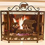 Metal Foldable Fireplace Screen