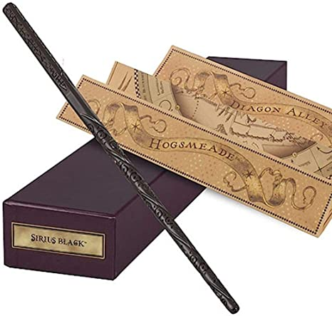 Black Wizard Wand |10.5 inch Black Magic Wand  Black  Wand Black onyx wood wand fairy wand for pretend play role play  creative play