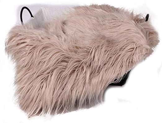 Newborn Baby Faux Fur Soft Blanket Basket Rug Backdrop Photography Prop New Hot
