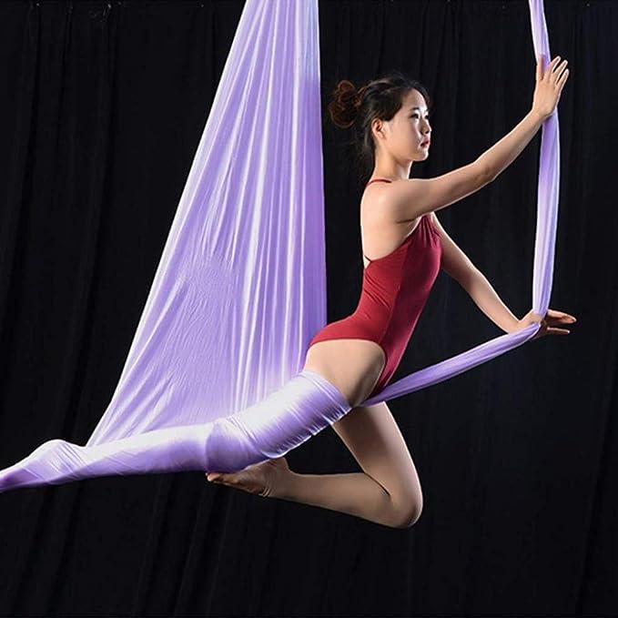 FLY FLU Hamaca De Yoga Hamaca De Yoga Aérea para Colgar En El ...