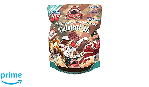 Max Protein Harina de Avena 3kg Gofre y Chocolate Blanco: Amazon.es: Salud y cuidado personal