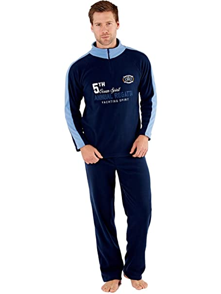 Harvey James - Pijama - para Hombre Navy-Blue Medium