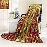 AmaPark Digital Printing Blanket Carved G Paint on Door Thai Temple Spirituality Statue Classic Gen Summer Quilt Comforter