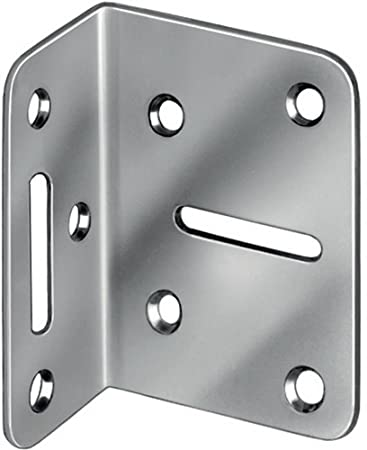 Winkelverbinder 50 x 35 x 70 x 2 mm 20 Stück Vormann Stahl Verstellwinkel