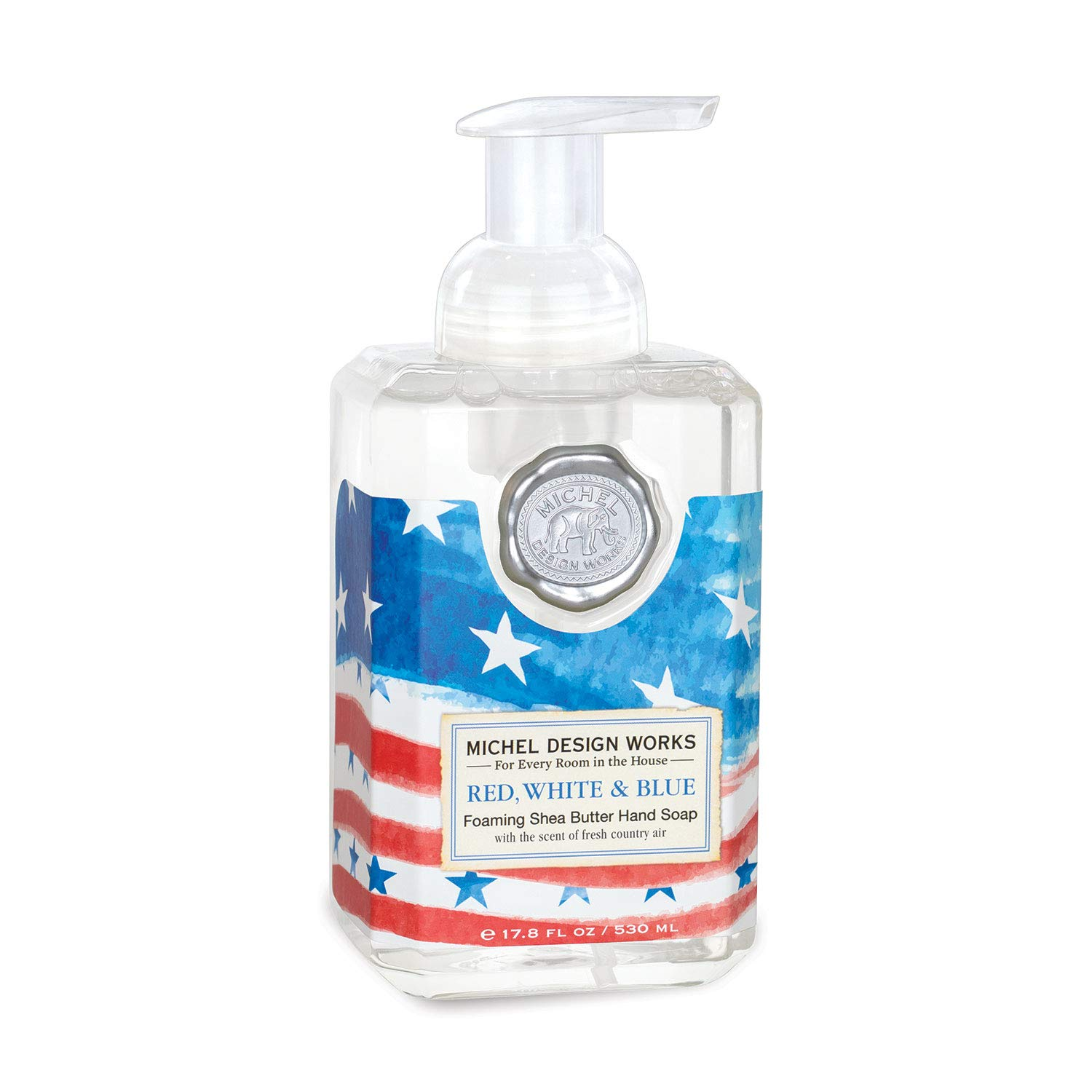 Amazon Com Michel Design Works Foaming Hand Soap Red White Blue Beauty,Acrylic Nail Designs Natural Colors
