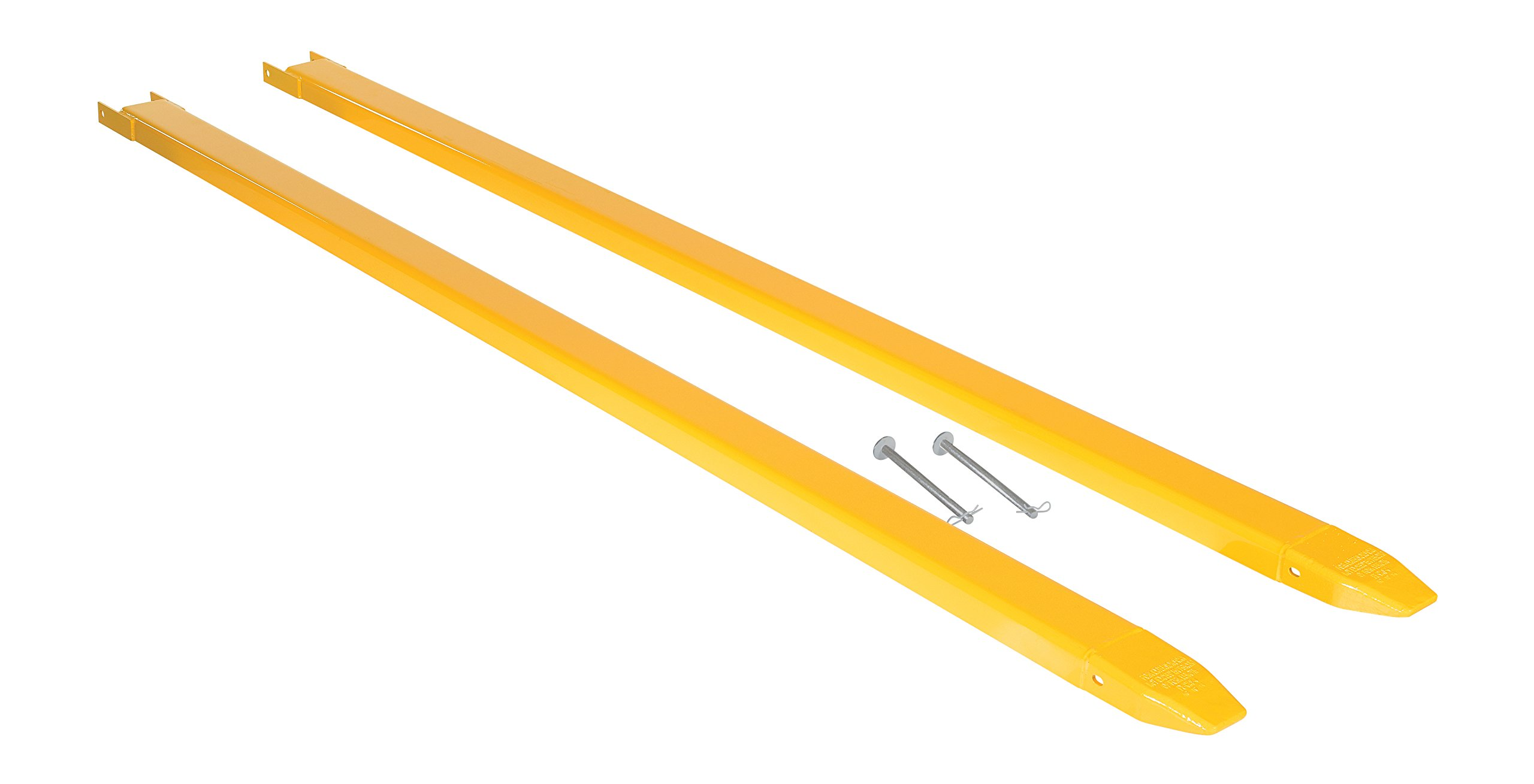 Vestil Fork Extensions Pin Style 120L X 4W in, Pair
