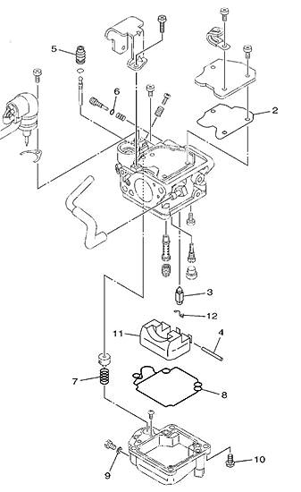 Amazon Com Boat Motor Carburetor Repair Kit 6bl W0093 00 00 For