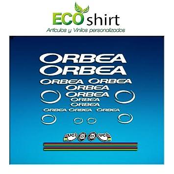 Ecoshirt 9K-ICI9-CJL3 Pegatinas Orbea R71 Vinilo Adesivi Decal Aufkleber Клей MTB Stickers Bike, Blanco: Amazon.es: Coche y moto