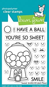Lawn Fawn Clear Stamps - LF895 Sweet Smiles