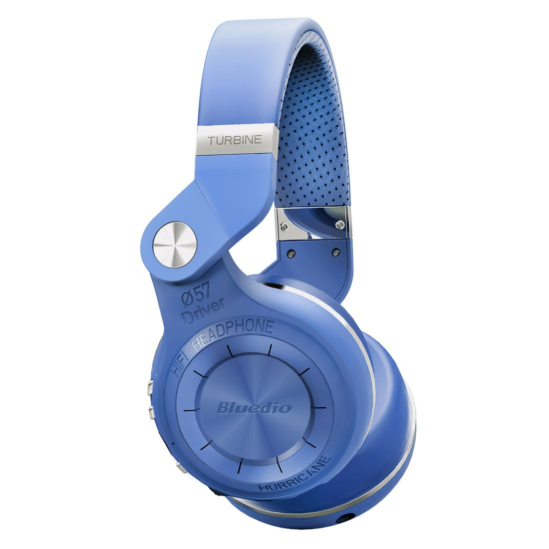 Bluedio T2S Turbine 2 Shooting Brake, Cuffie Wireless, Bluetooth 4.1, Colore Blu