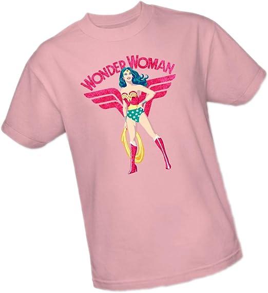 Justice League DC Comics Wonder Woman Sparkle Women/'s T-Shirt Tee