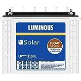 Luminous LPTT12100L 100Ah Solar Tall Tubular Battery (36Months)