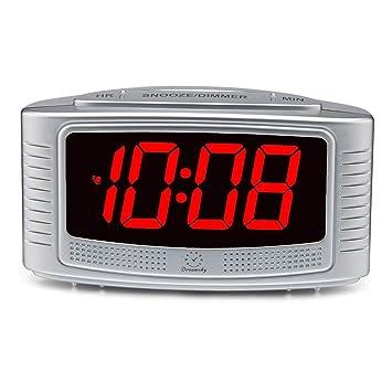 DreamSky Simple LED Digital Alarm Clock, 1 2