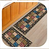 Brave Rosemary Modern Cartoon 3D Print Kitchen Rug Carpet Mat Set Long Washable Cat Funny Doormat Front Door Mat Entrance Tapis De Cuisine,Shivering,60x90cm