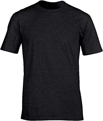 Men's Classic Basic Solid Ultra Soft Cotton T-Shirt