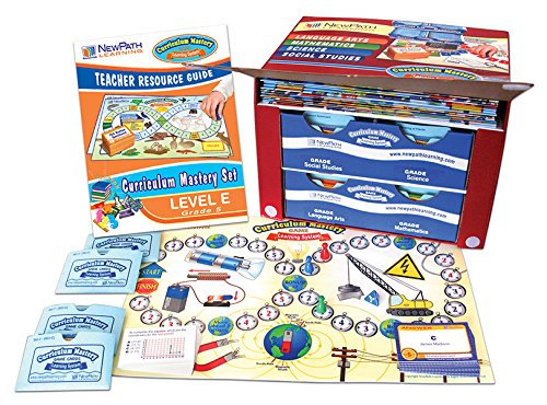 NewPath Learning 4 Piece Curriculum Mastery (ELA, Math & Science) Game Set, Grade 5, Class-Pack by New Path Learning