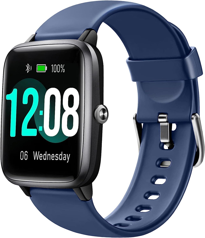 Letsfit 1.3 Inch IP68 Waterproof Bluetooth Smart Watch $25.4 Coupon