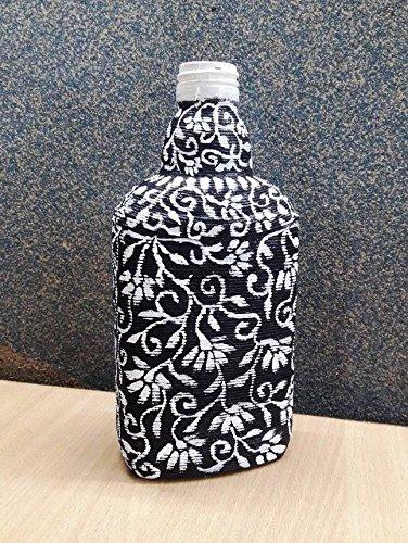 Buy hand painted bottle art vase for home decor flower vases hand painted bottle art vase for home decor flower vases table decor junglespirit Gallery