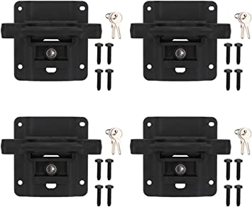 All Hardware Included Set of 4 Tie Down Brackets /& Set of 4 Boxlink Bed Cleats Ronin Factory Boxlink Cleats /& Plates for Ford F150 Combo Pack