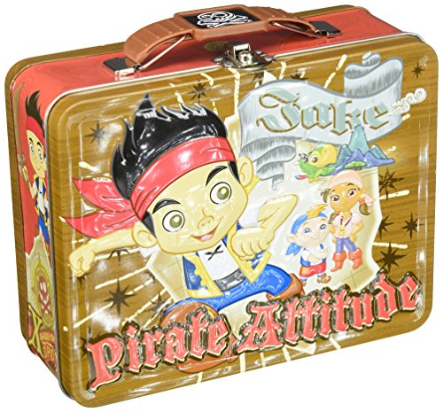 Jake and the Never Land Pirates Large Tin Carry-All [Pirate -
