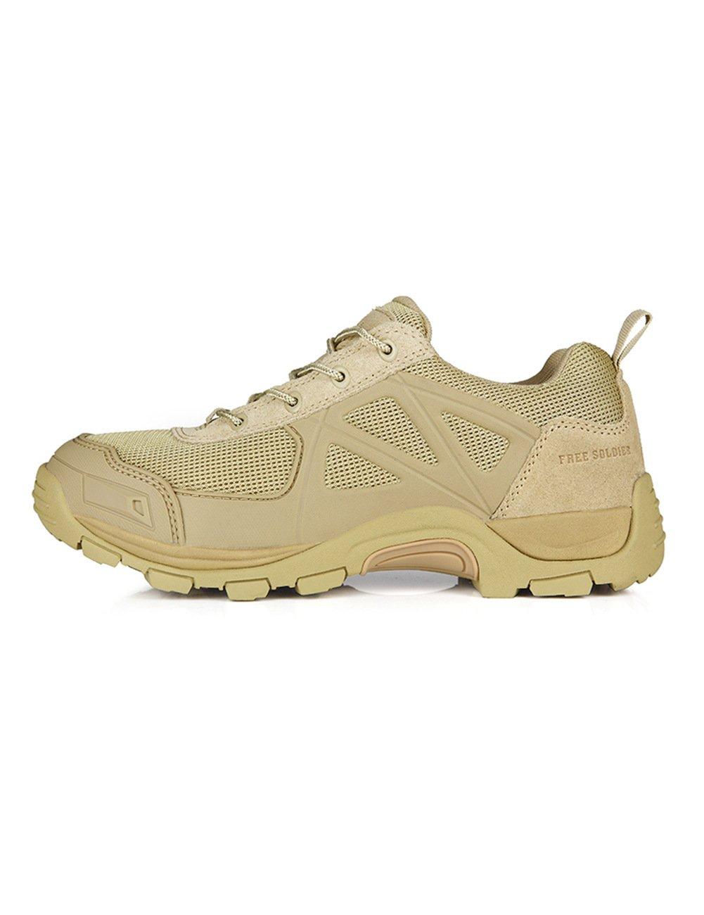 Free Soldierアウトドア急速なノンスリップキャンプハイキングブーツMountain all-terrainオフロード靴 B015O3C80W 7|サンド 色 サンド 色 7