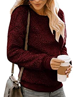 shinianlaile Womens Casual Crew Neck Hollow Out Long Sleeve T-Shirt Tops