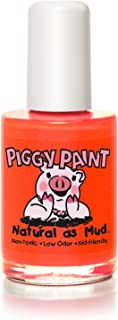 product image for Piggy Paint 100% Non-toxic Girls Nail Polish - Safe, Chemical Free Low Odor for Kids, Drama, 0.5 FL - Great Stocking Stuffer for Kids