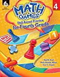 img - for Math Games: Skill-Based Practice for Fourth Grade book / textbook / text book