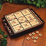 Bits and Pieces Deluxe Wooden Sudoku Board Game
