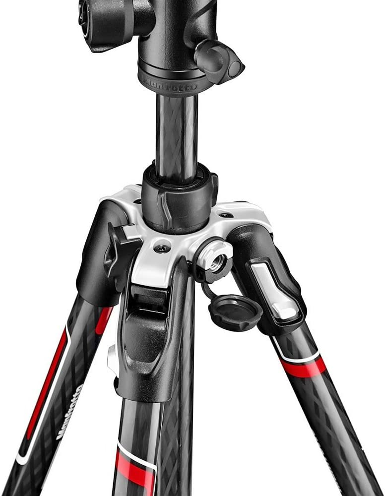 Black Sony Mirrorless CSC DSLR Nikon Up to 8 kg with Tripod Bag Lightweight Aluminium Lever Lock with Ball Head for Canon Manfrotto Befree Advanced Tripod MKBFRLA4BK-BH Befree Travel Tripod