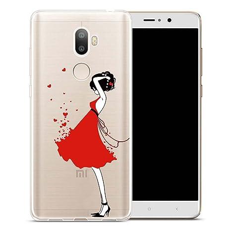 ocketcase Xiaomi Mi 5S Plus Funda, TPU Carcasa Suave Silicona Flexible Gel Funda Resistente a los Arañazos Tapa Protectora Case Cover para Xiaomi Mi ...