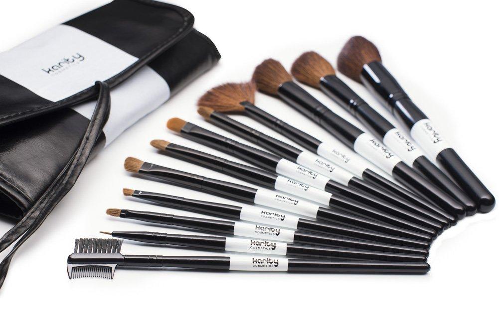 Amazon.com: Professional Studio Quality 12 Piece Natural Cosmetic ...