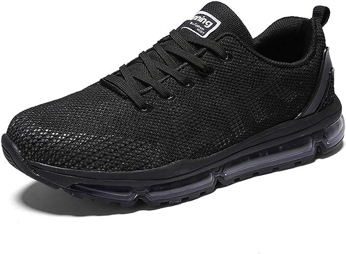 Fexkean Hombre Mujer Zapatillas Deporte Running Zapatos Correr Gimnasio Sneakers Deportivas Padel Transpirables Casual Montaña: Amazon.es: Zapatos y complementos