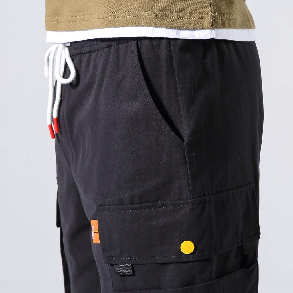 SENDRY Mens Casual Outdoors Pocket Pants Work Trousers Beach Baggy Shorts Pant