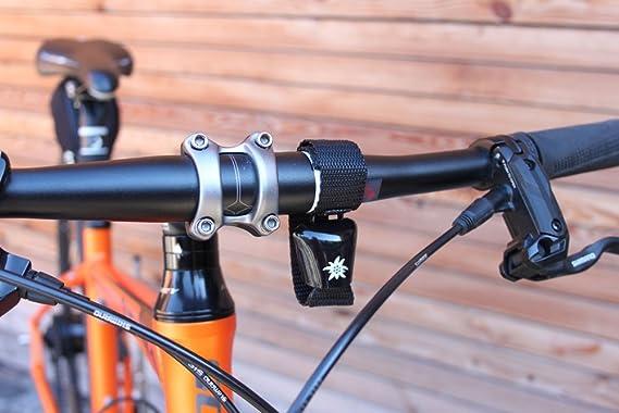 ebos Alpenhupe, Cencerro como Timbre de Bicicleta, Compatible con Todas Las Bicicletas | Abrazadera de Bicicleta Resistente a la Intemperie | Timbre con un Alto Sonido para Cada Manillar (Negro): Amazon.es: Deportes